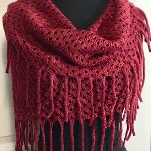 Infinity scarfs in multiple colors